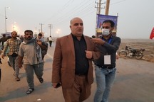 دریافت عوارض برای خروج زائران اربعین حسینی در مرز شلمچه حذف شد