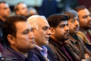 دیدار جمعی از پرستاران با سید حسن خمینی