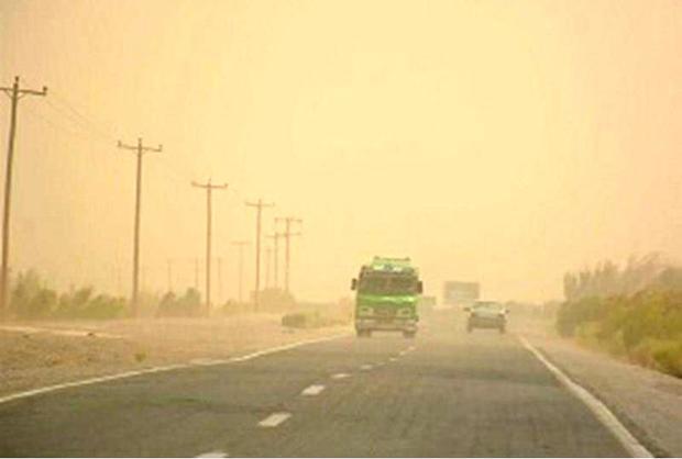 غلظت غبار و آلاینده های جوی در سمنان افزایش می یابد