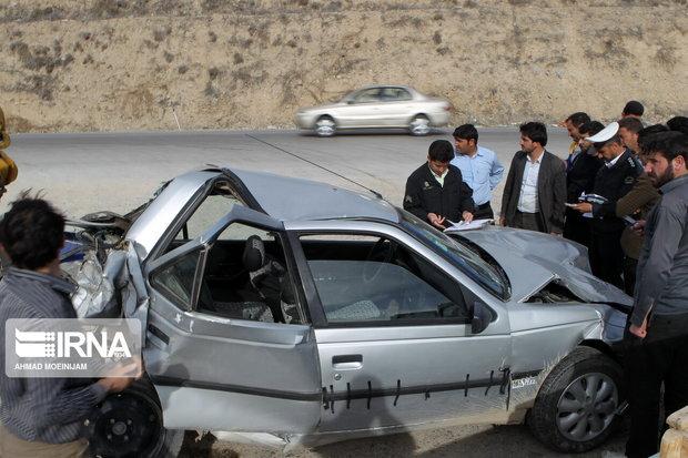 دو تصادف در فارس یک کشته و ۶ مجروح بر جای گذاشت
