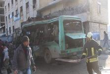 کشته و زخمی شدن شماری در انفجار یک اتوبوس در «عفرین» سوریه