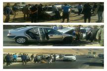 حادثه رانندگی درجاده سمیرم به یاسوج 6 مصدوم برجا گذاشت
