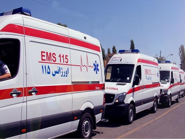 مصدومان تصادفات شهری و جاده ای البرز به 904 نفر رسید