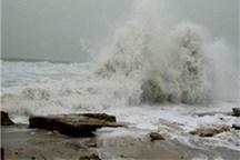 ارتفاع موج در خلیج فارس به بیش از 150سانتیمتر بر ساعت می رسد
