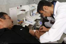 عزاداران حسینی در زنجان 715 واحد خون اهدا کردند