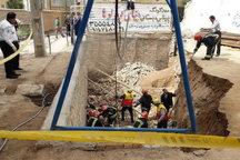 ریزش آوار در تبریز 2 کشته و یک مصدوم برجای گذاشت