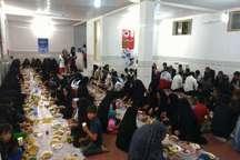 مشارکت 653 خیر در برپایی سفره های مهربانی جمعیت هلال زنجان
