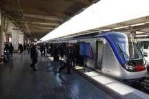 خط 5 مترو تهران روز جمعه پذیرش مسافر ندارد