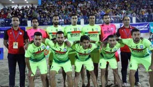 تیم فوتبال ساحلی گلساپوش یزد،  آماده مصاف با حریفان است