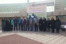 تیم دوومیدانی بانوان یزد قهرمان سومین دوره مسابقات المپیاد دارالعباده