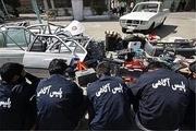 سارقان حرفه ای خودرو در دام پلیس قزوین
