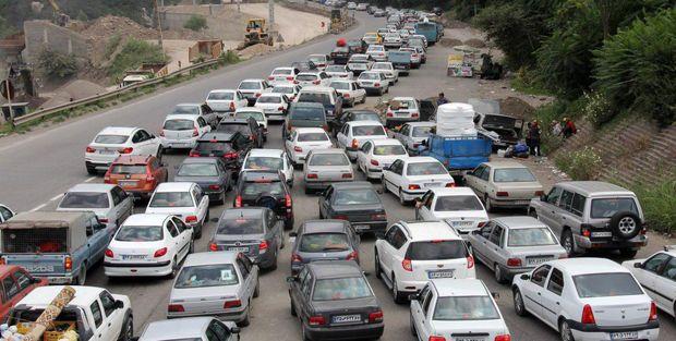 ترافیک در همدان سنگین است