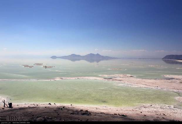 افزایش 40 سانتی متری تراز دریاچه ارومیه