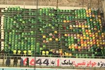 خشم هوداران استقلال پس از باخت، صندلی های ورزشگاه فولاد شهر را از جا کند