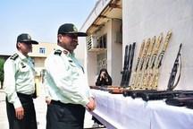 140 قبضه سلاح غیر مجاز در خوزستان کشف شد