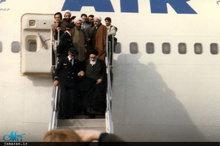 لحظه ورود تاریخی حضرت امام به میهن