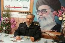 فرمانده انتظامی:سارق وسائل منزل کمتر از چهار ساعت در بوکان دستگیر شد