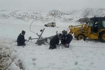 برق 80 درصد روستاهای کالپوش وصل شد