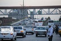 سرعت متوسط خودروها در تهران ۷ درصد افزایش یافت