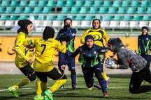 فوتبال برتر بانوان   قشقایی شیراز برابر راه یاب ملل سنندج شکست خورد