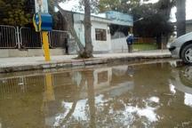 سیلاب در شهر گُمیش تپه