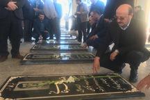 استاندار قزوین به مقام شامخ شهدای تاکستان ادای احترام کرد
