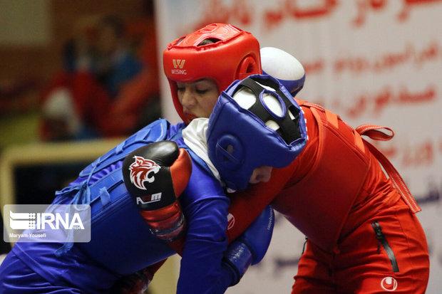 کسب یک مدال توسط بانوی ووشوکار گیلانی در مسابقات کشوری