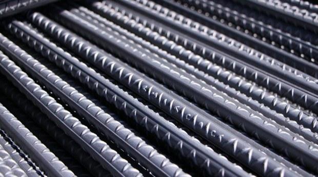 میلگرد A4 در مجتمع فولاد بافق تولید شد