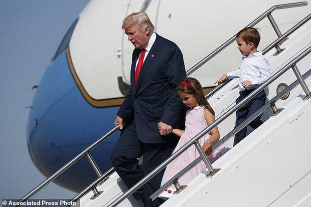 تعطیلات تابستانی ترامپ
