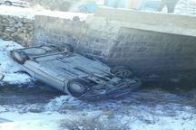 جزئیات حادثه واژگونی سرویس دانش آموزی در صومای برادوست ارومیه