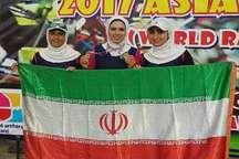 کسب نخستین مدال طلا برون مرزی ورزش زنجان در سالجاری توسط پریسا براتچی