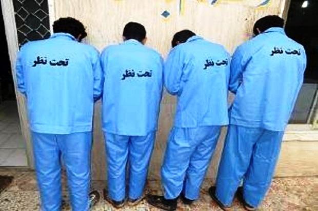 باند حرفه ای سارقان اماکن خصوصی در دماوند دستگیر شدند
