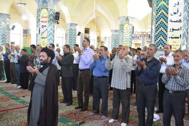 نماز عید قربان در بهاباد اقامه شد