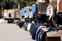 کشف بیش از 682 میلیون ریال لباس قاچاق در مشهد