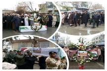 پیکر پاک جانباز شهید  در گنبدکاووس تشییع شد