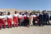 مانور آمادگی گردان امداد و نجات شهرستان دماوند برگزار شد