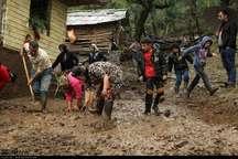 شرایط زندگی سیل زدگان گیلان در حال عادی شدن است