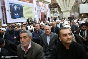 مراسم آخرین شب جمعه سال در حرم امام خمینی(س)