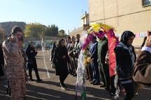 900دانش آموز از مناطق عملیاتی دفاع مقدس شاهین دژ بازدید کردند