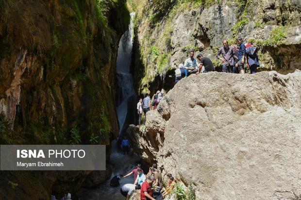 آبشار «گول آخور» بهشتی در قلب ارسباران