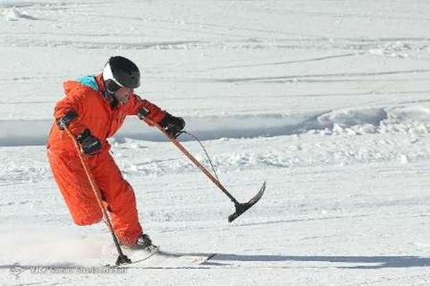 رقابت های اسکی پارالل به میزبانی دیزین آغاز شد