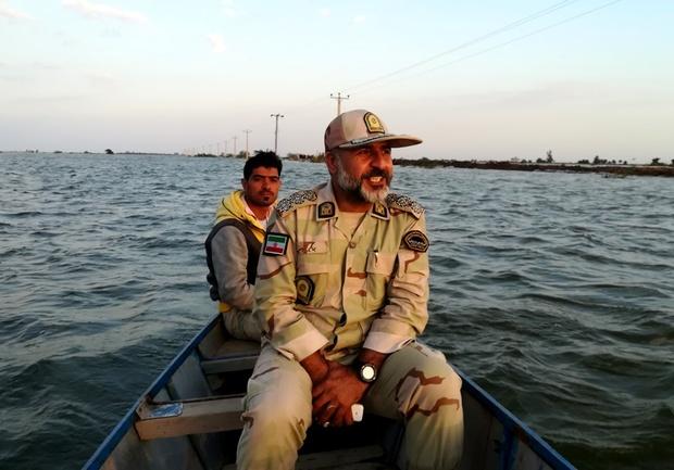 امنیت مرز آبی دشت آزادگان با حراست چندلایه برقرار است