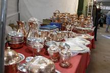 نمایشگاه سوغات و هدایا در قزوین افتتاح شد
