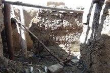 بارش باران موجب ریزش آوار یک منزل مسکونی در تویسرکان شد