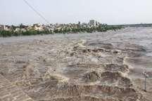 افزایش دبی رودخانه دز تا ساعات دیگر