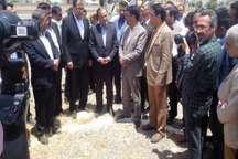 ساخت بیمارستان 250 تختخوابی جیرفت آغاز شد