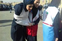 مانور آمادگی در برابر زلزله در مدارس البرز برگزار شد