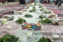 آستانه سبزقبا در دزفول با افطاری ساده پذیرای روزه داران است
