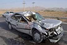 حادثه رانندگی در جاده کازرون - شیراز 2 کشته و 4 مصدوم برجای گذاشت