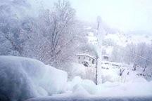 ارتفاع برف در خوی به 30 سانتیمتر رسید
